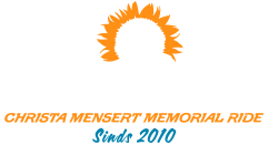 Christa Mensert Memorial Ride | Zondag 9 september 2018 Logo